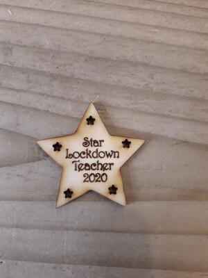 Teacher Lockdown Tags x 10