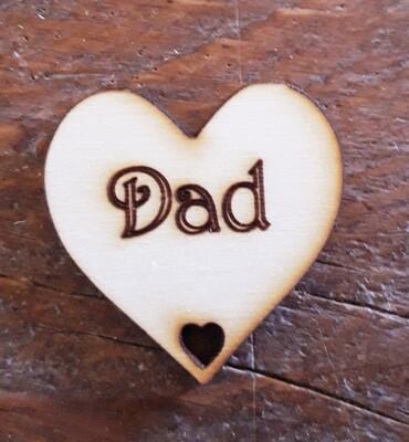 Dad Hearts  x 10