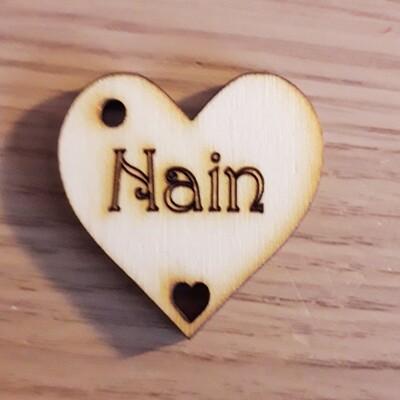 Nain Hearts  x 10