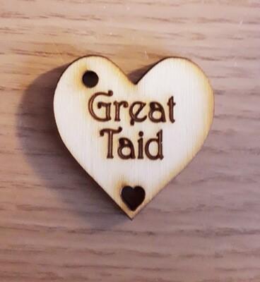 Great Taid Hearts  x 10