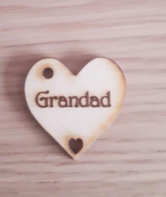 Grandad Hearts  x 10