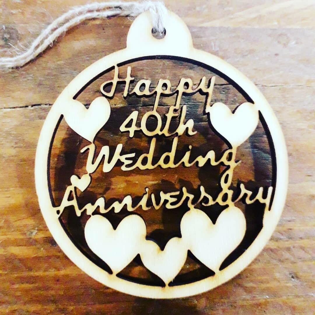 40th Wedding Ruby