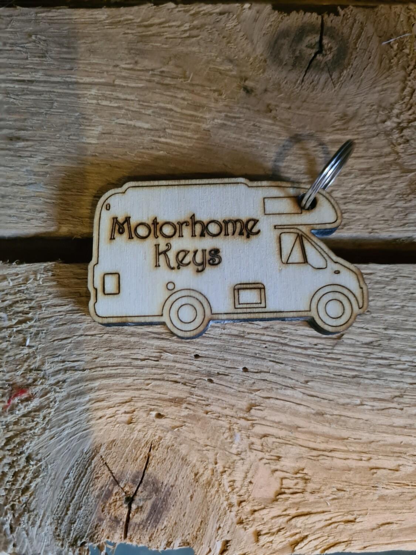 Motorhome  Keyring