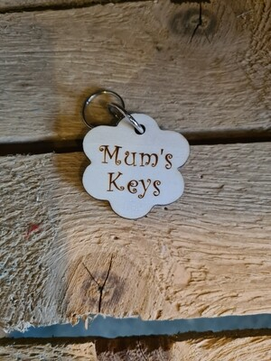 Mums Keys Keyring
