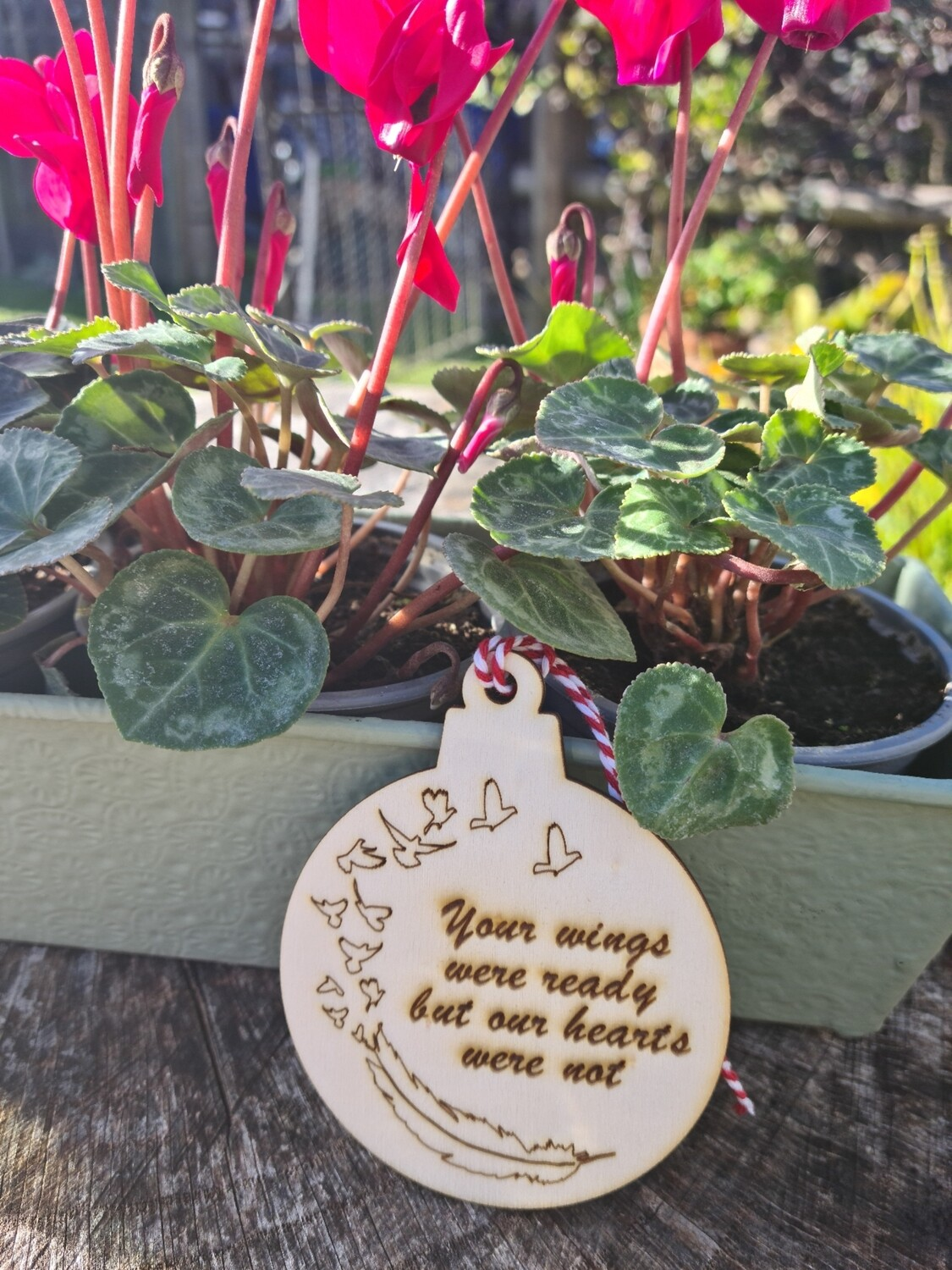Memory Hanging Christmas Decoration Our Hearts