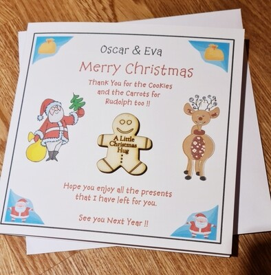 Personalised Thank You Card from Santa