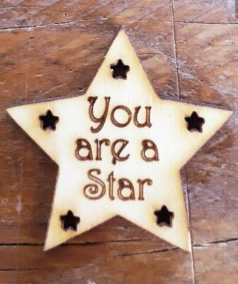 You are are a Star Tags x 10