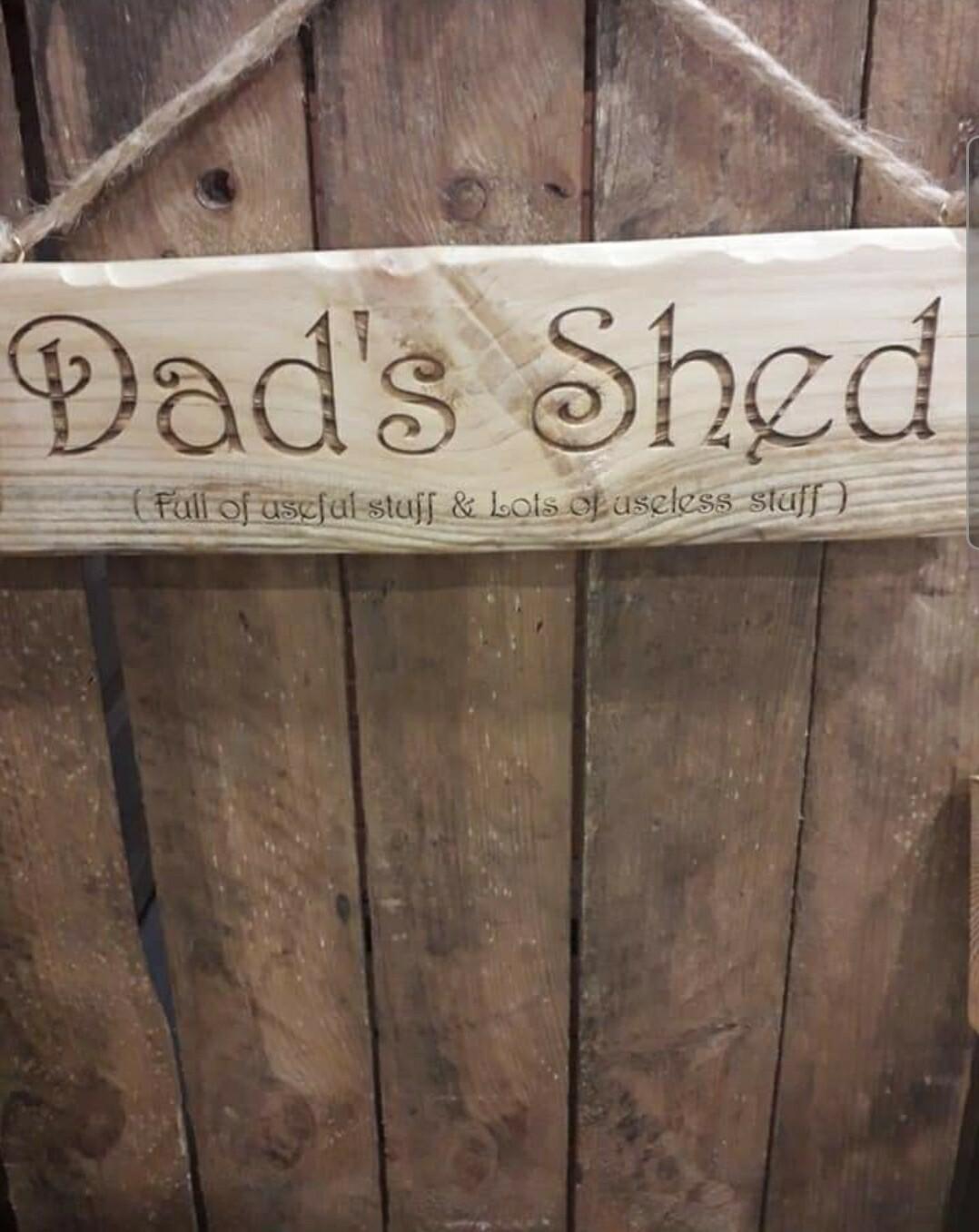 Grandads Workshop Hanging Sign