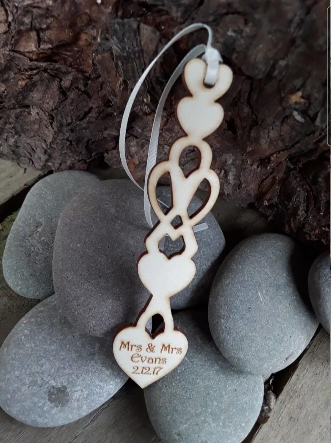 Personalised Love Spoons