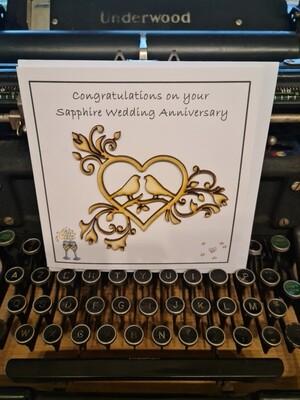 Sapphire Wedding