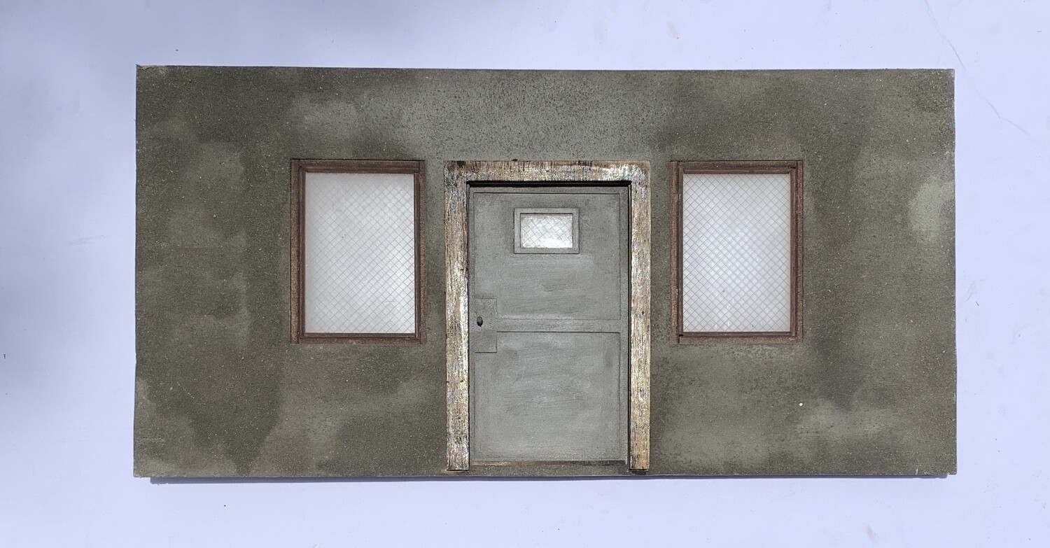 1:12 Scale Security Door Wall