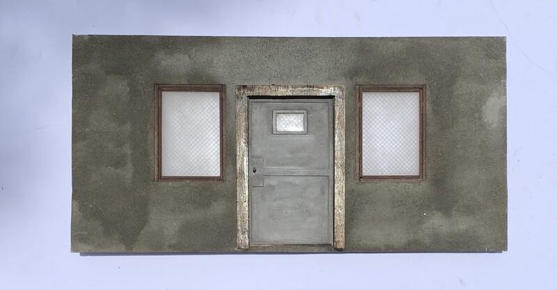 1:12 Scale Security Door Wall