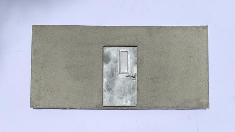Back Entrance Door Wall