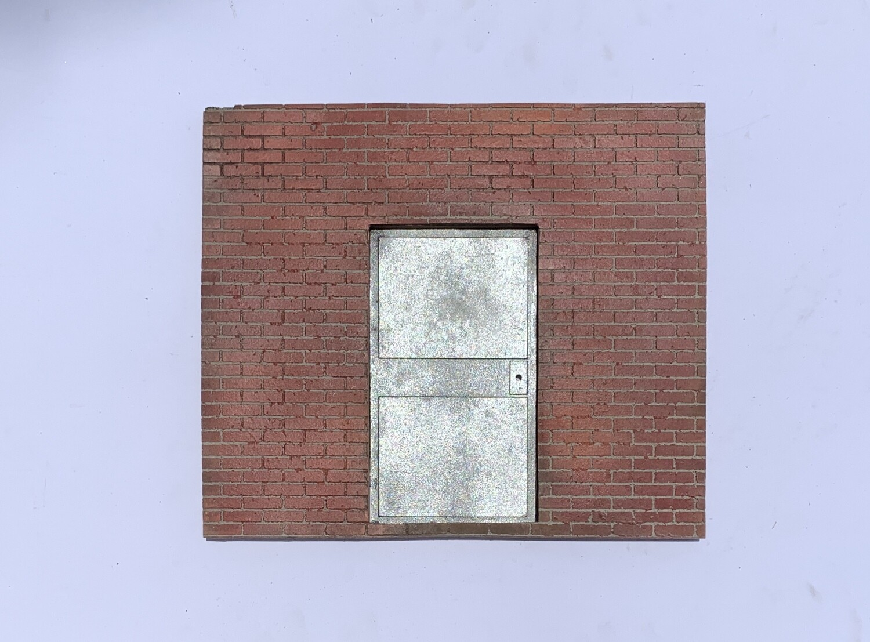 Brick Rear Entrance Wall