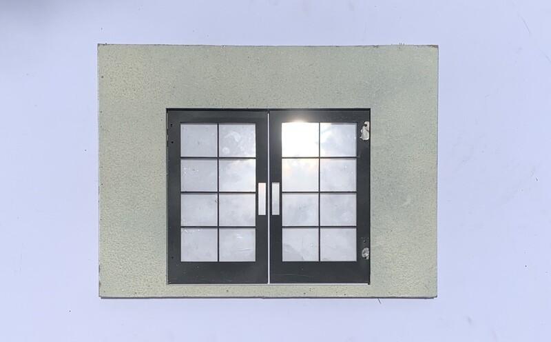 French Door Panel Wall