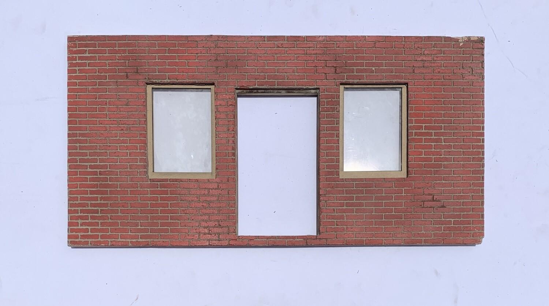Brick Front Entrance Wall