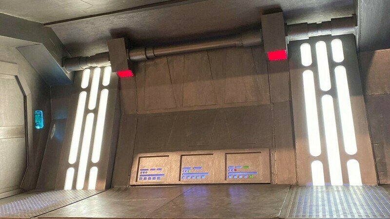 1:6 Scale Action Figure Diorama, Custom Star Wars Display, Combat Environment