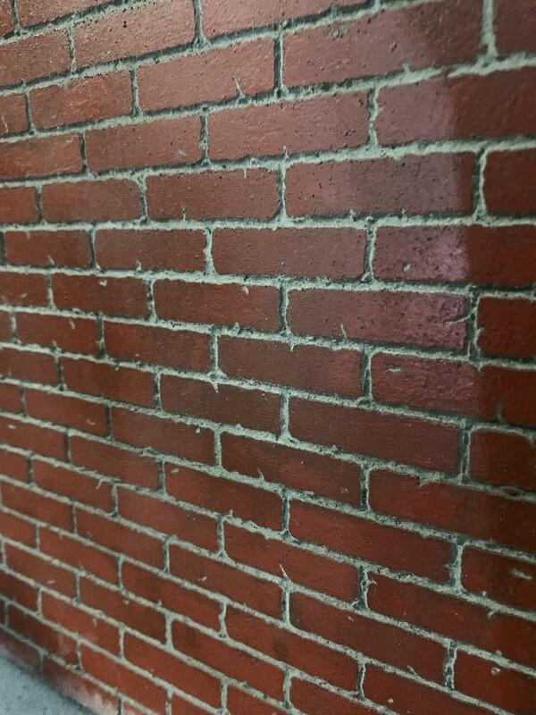 Solid Brick Wall Large