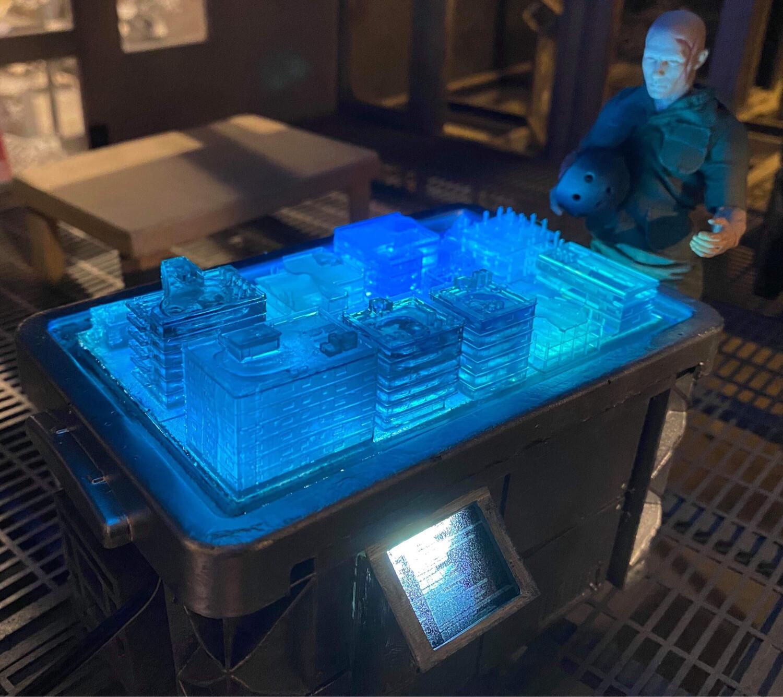 Omega City Hologram Table