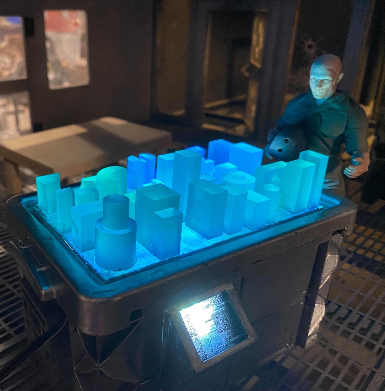 Alpha City Hologram Table
