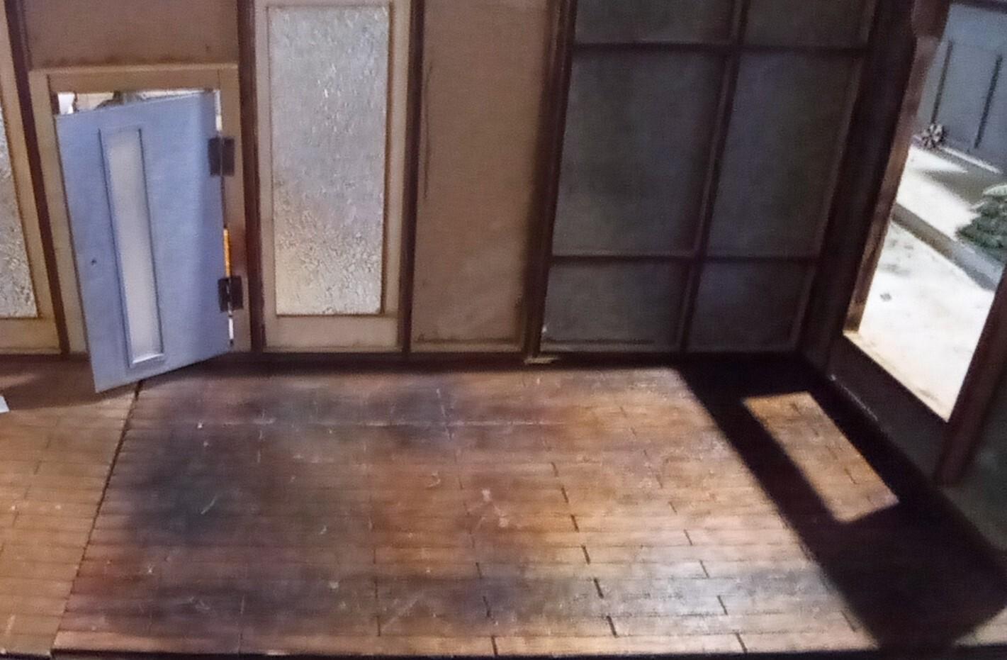 1:12 Scale Panel Wood Floor