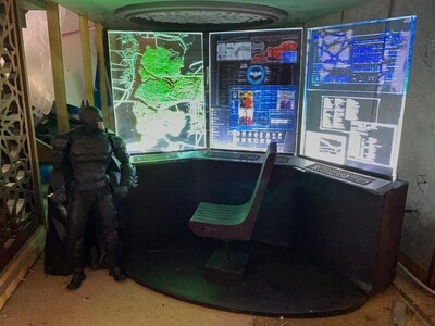 Bat Cave Supercomputer