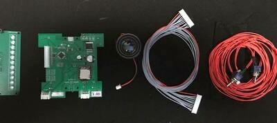 Spirit Halloween Proton Pack Upgrade Kit (Light and sound)