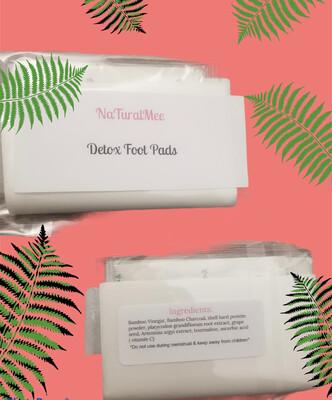 NaTuralMee Foot Detox Pads (10pc)