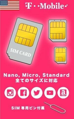 SIMカード ※お申込みより3~5営業日で配送