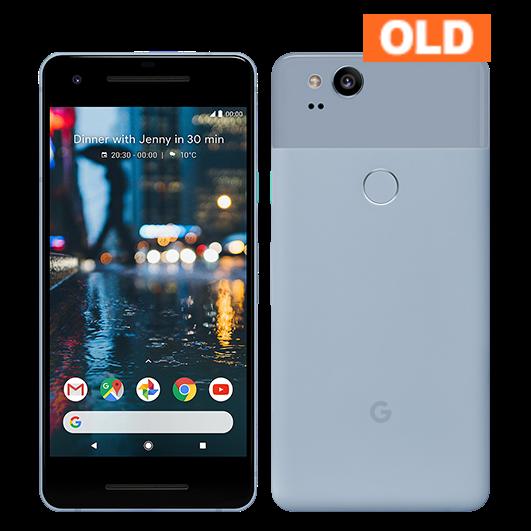 Google Pixel 2 64GB 2017年モデル Kinda Blue 中古 (SIMセット) ※お申込みより3~5営業日で配送 (日本国内在庫)