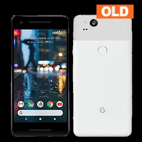 Google Pixel 2 64GB 2017年モデル ホワイト 中古 (SIMセット) ※お申込みより3~5営業日で配送 (アメリカ国内在庫)