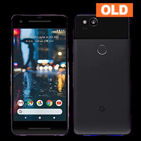 Google Pixel 2 64GB 2017年モデル ブラック 中古 (SIMセット) ※お申込みより3~5営業日で配送 (アメリカ国内在庫)