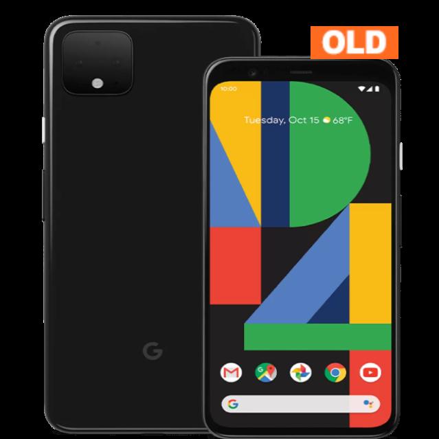 Google Pixel 4 64GB 2019年モデル ブラック 中古 (SIMセット) ※お申込みより3~5営業日で配送 (アメリカ国内在庫)