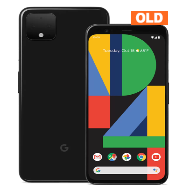 Google Pixel 4 64GB 2019年モデル ブラック 中古 (SIMセット) ※お申込みより3~5営業日で配送 (日本国内在庫)