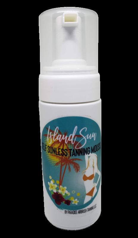 Island Sun Self Tanning Mousse 4.2 oz