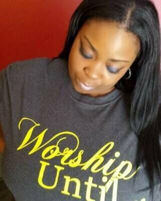Worship Until tee