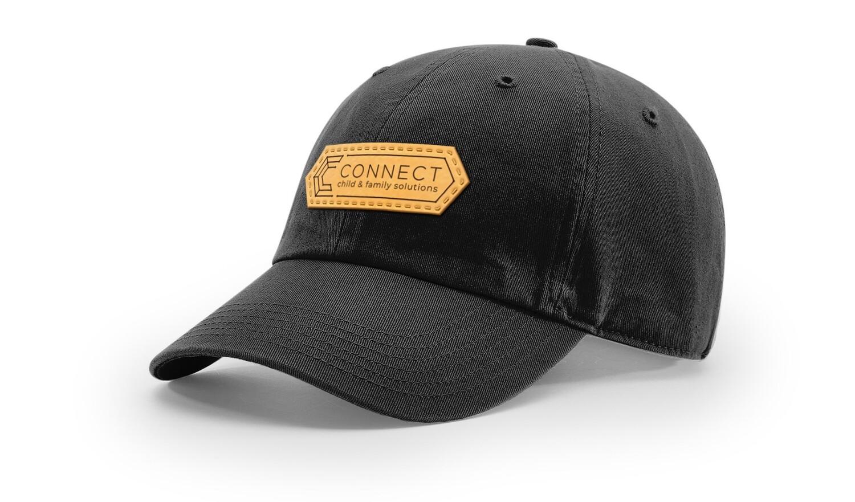 Leather Patch Hat, colors (2)