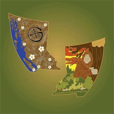 BCGA Sasquatch coin
