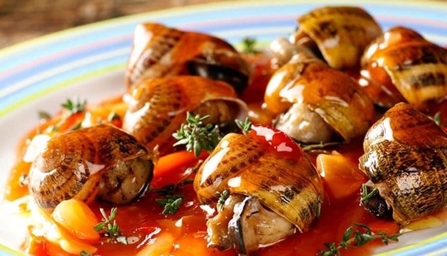 Escargots Petits gris en sauce Mode Corse 500gr