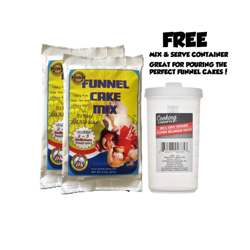 Funohcakes' Funnel cake Mix