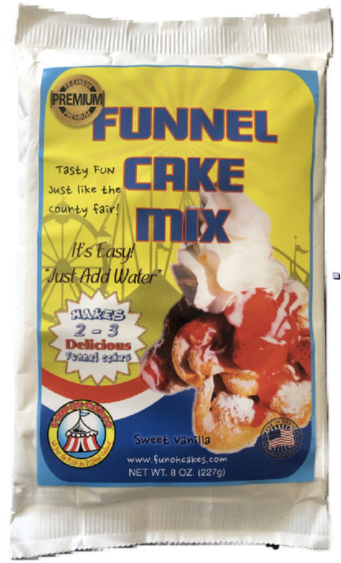 FUNOHCAKES's Funnel Cake Mix