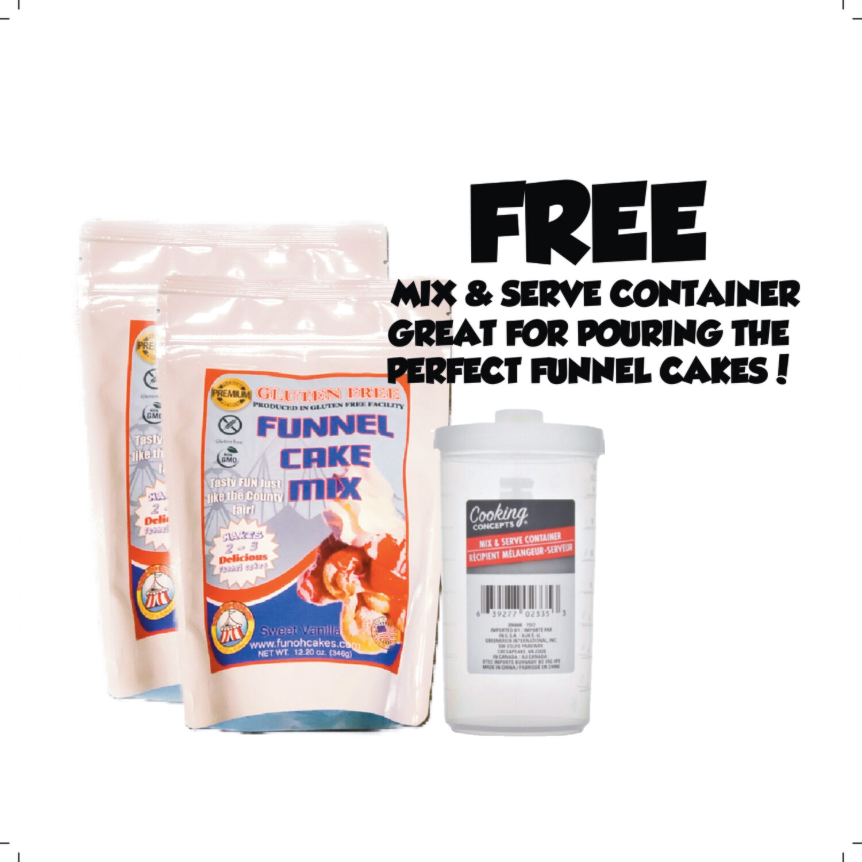 Gluten-Free Funnel Cake Mix