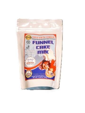 FUNOHCAKES Gluten-Free Funnel Cake Mix
