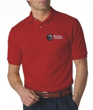 Michigan Collegiate Short Sleeve Polo