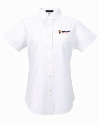 Bradford Academy Ladies Short Sleeve Blouse