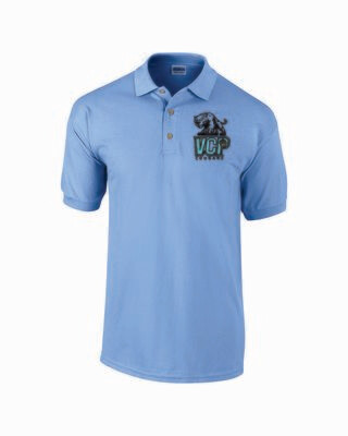 VCP Short Sleeve Polo Embroidered Logo