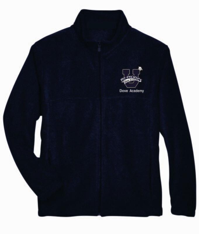 Dove Full Zip Fleece Jacket