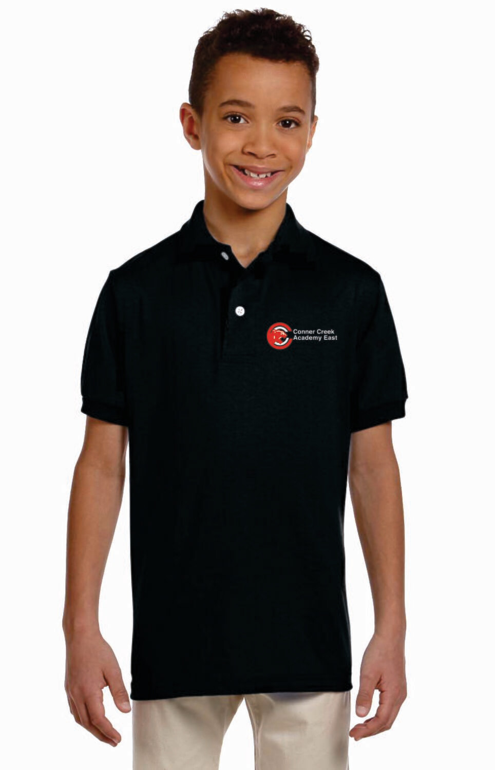 Conner Creek Academy East Short Sleeve Polo