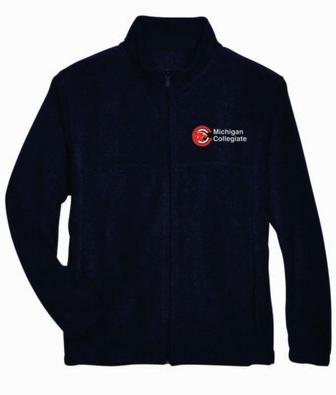 Michigan Collegiate Full Zip Fleece Jacket
