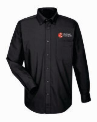 Michigan Collegiate Young Men Long Sleeve Shirt